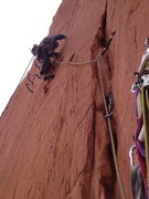 Rock Climbing Photo: Starting P2 (really P3-4).