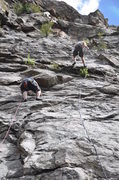 Rock Climbing Photo: You can see both Wild Bore and Turkey next to each...