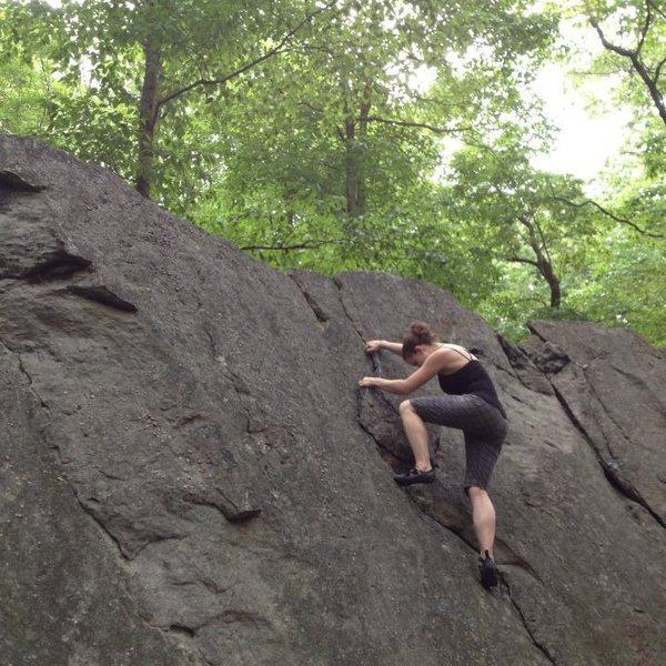Rock Climbing Photo: Scrambling in Coopers