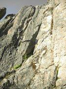Rock Climbing Photo: Kendall rapping off of Sky Pilot.