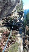 Rock Climbing Photo: Perverse Traverse