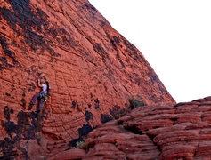 Rock Climbing Photo: Enjoyable moderate climbing.