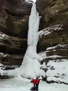 Rock Climbing Photo: Nice Ice at SRSP