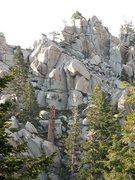 Rock Climbing Photo: Mountain scenery, Tramway