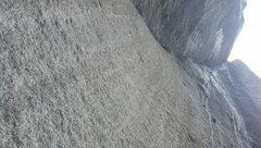 Rock Climbing Photo: The ice cream scoop roof