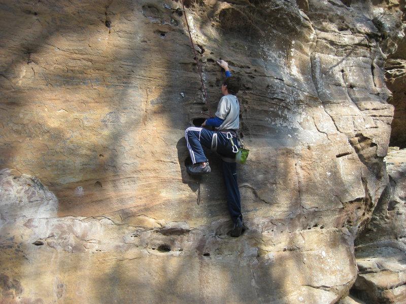 Rock Climbing Photo: Stick in your Eye