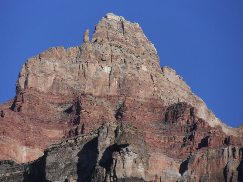 The upper portion of the ridge. Epic!