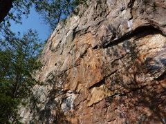 Rock Climbing Photo: Rawlhide wall