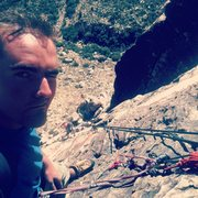 Rock Climbing Photo: P4 of Birdland in RR, NV
