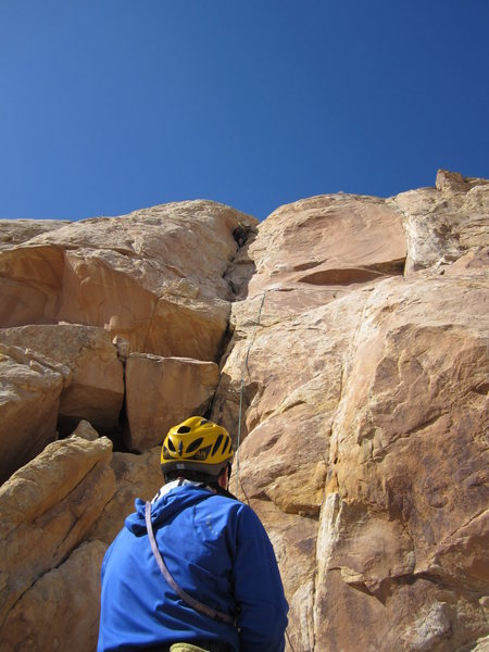 Rock Climbing Photo: Shingo on P3