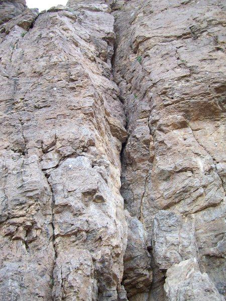 Rock Climbing Photo: Cow Crack