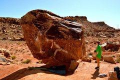Rock Climbing Photo: Israil V6