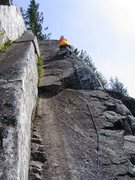Rock Climbing Photo: Finishing up Star Check