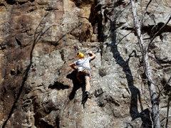 Rock Climbing Photo: Alex H on Gracies 8