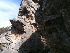 Rock Climbing Photo: Main fin.