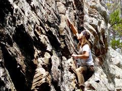 Rock Climbing Photo: Al on HBPP