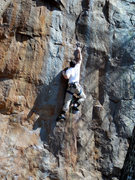 Rock Climbing Photo: Horseshoes and Hand Grenades 4 star route