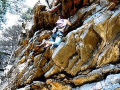 Rock Climbing Photo: Hero beta