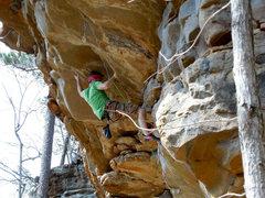 Rock Climbing Photo: Stephen the Love Slave