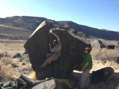 Rock Climbing Photo: Reggie on Split