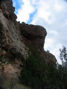 Rock Climbing Photo: West face of Maroon Tower