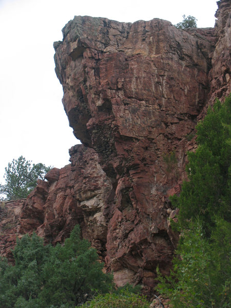 Rock Climbing Photo: Maroon Tower from East