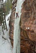 Rock Climbing Photo: RCC solo Drool: Photo by Rob Fullerton.