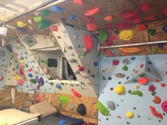 Rock Climbing Photo: one view of the garage....more to come
