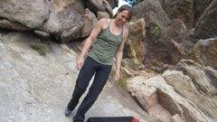 Rock Climbing Photo: screwing around - Flagstaff