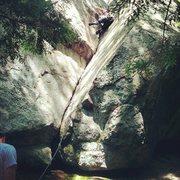 Rock Climbing Photo: Crack above the boulder natural area kind of towar...