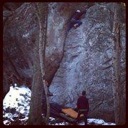Rock Climbing Photo: 5.6? 5.7? Fun climb was easier to solo then to lea...