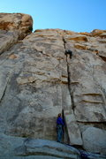 Rock Climbing Photo: White Lightening, Hemingway, Joshua Tree National ...