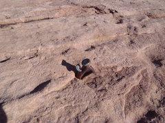 Rock Climbing Photo: Scary