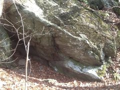 Rock Climbing Photo: V2 problem