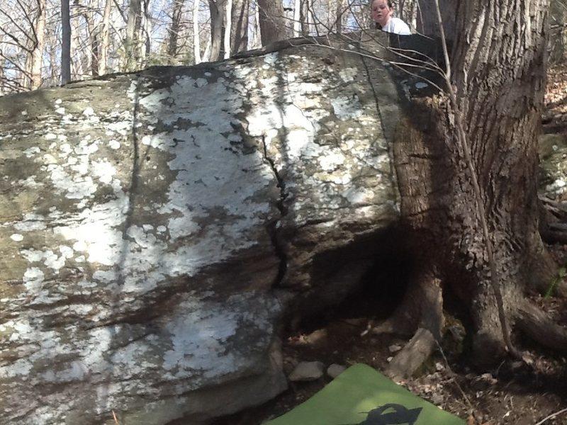 Rock Climbing Photo: Mini crack