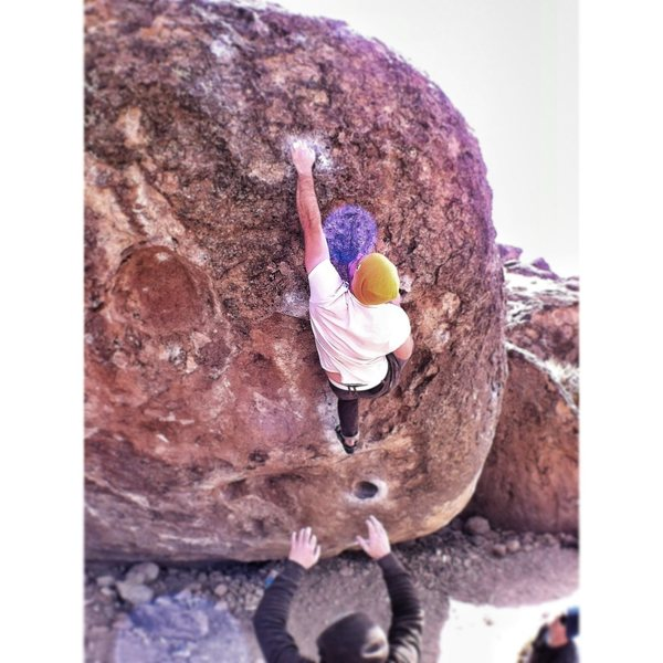 Rock Climbing Photo: Buck on SIN