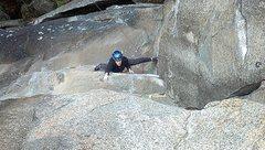 "Rock Climbing Photo: ""Gawd I love sport climbing! "" Crux regi..."