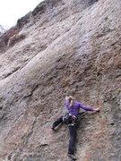 Rock Climbing Photo: Fanny at the start of Behalt's für Dich Ulle. Not...