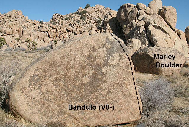 Bandulo (V0-), Joshua Tree NP