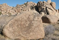 Rock Climbing Photo: Bandulo Block (foreground), Joshua Tree NP