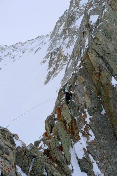 """Rock Climbing Photo: photo courtesy """"Mooner."""" Steep, sharp ri..."""