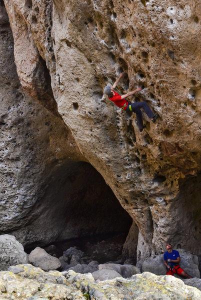 Rock Climbing Photo: Climbing at the Ghetto