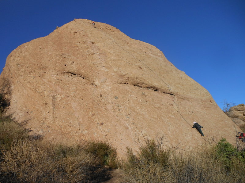 Rock Climbing Photo: Hyperion Slab from the southwest.