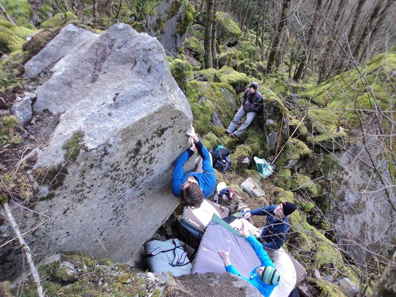 Rock Climbing Photo: Mr K