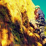 Rock Climbing Photo: Happy climbing