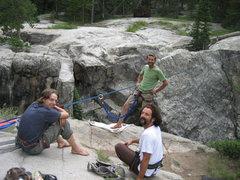 Rock Climbing Photo: Highline boyz