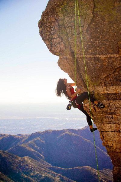 Rock Climbing Photo: Steve's Arrete 5.11a Mount Lemmon, Tucson