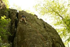 Rock Climbing Photo: this climb is so fun!