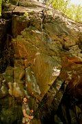 Rock Climbing Photo: the first half of Yoda