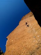 Rock Climbing Photo: Taking a whip on Heinous Cling, a classic at Smith...